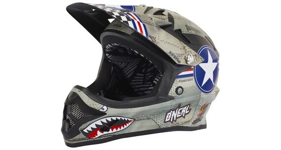 ONeal Backflip Fidlock Helmet RL2 Wingman metal/white
